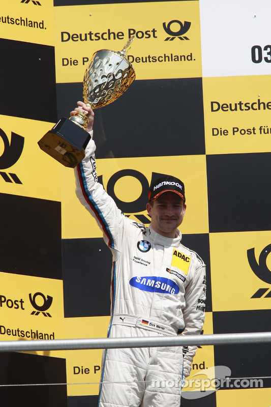 Segundo colocado Dirk Werner, BMW Team Schnitzer BMW M3 DTM