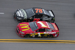 Jamie McMurray and Kurt Busch