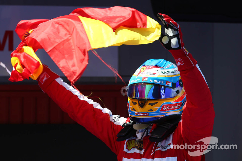 1e plaats Fernando Alonso, Ferrari F138