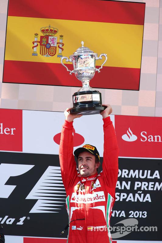 primeiro colocado: Fernando Alonso, Ferrari F138