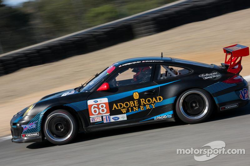 #68 TRG Porsche 911 GT3 Cup: Andrew Novich, Craig Stanton