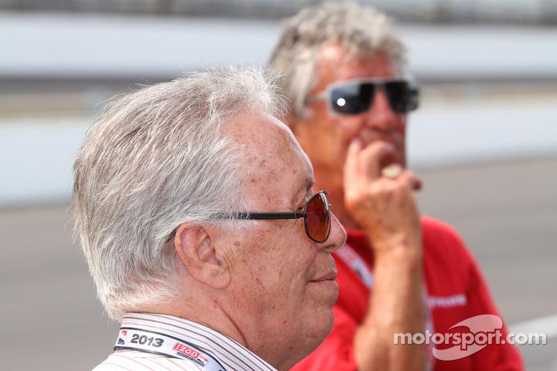 Aldo en Mario Andretti