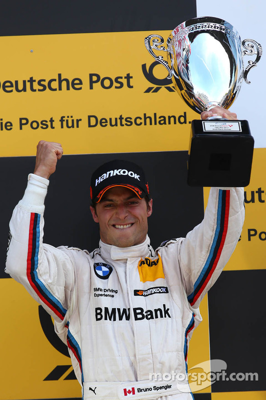 pódio: segundo colocado Bruno Spengler, BMW Team Schnitzer BMW M3 DTM