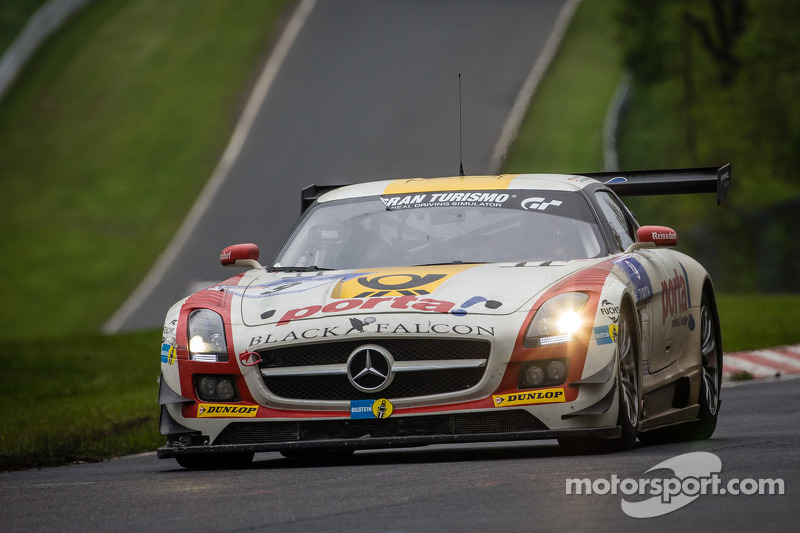 2013: #9 Black Falcon, Mercedes-Benz SLS AMG GT3
