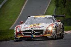 #9 Black Falcon, Mercedes-Benz SLS AMG GT3: Bernd Schneider, Jeroen Bleekemolen, Sean Edwards, Nicki Thiim