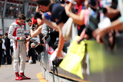 Jules Bianchi, Marussia F1 Team signs autographs for the fans