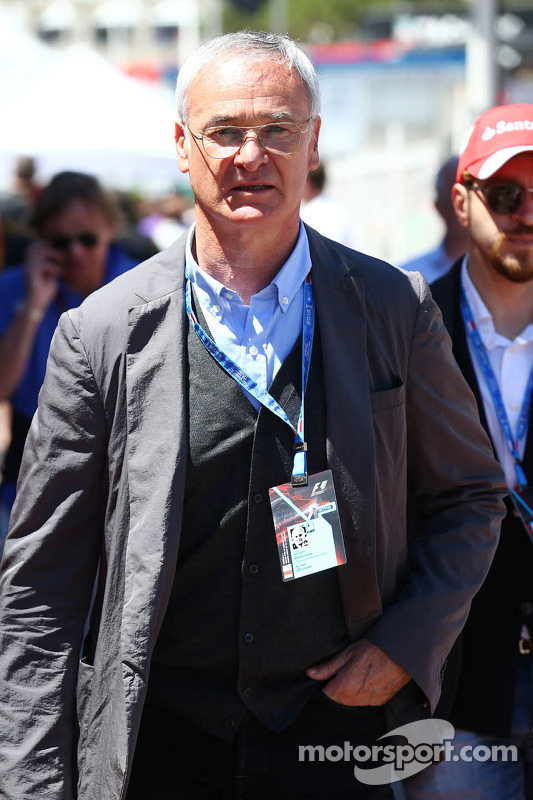 Claudio Ranieri, treinador do AS Monaco Football Club