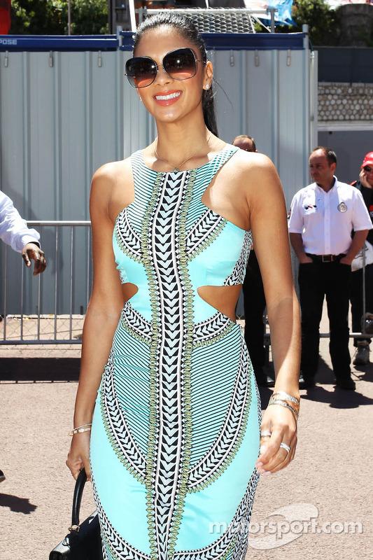 Nicole Scherzinger, Singer, namorada de Lewis Hamilton, Mercedes AMG F1