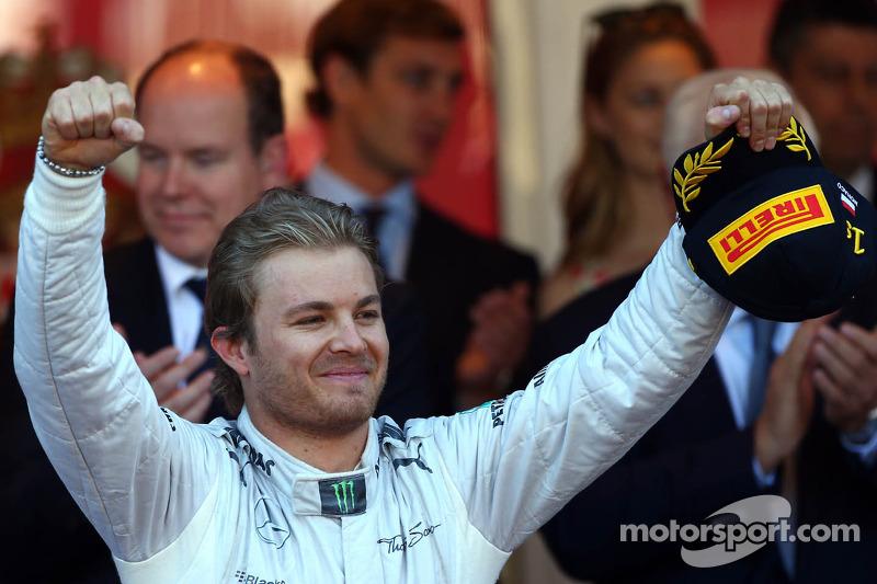 1st place Nico Rosberg, Mercedes AMG F1
