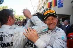 Race winner Nico Rosberg, Mercedes AMG F1