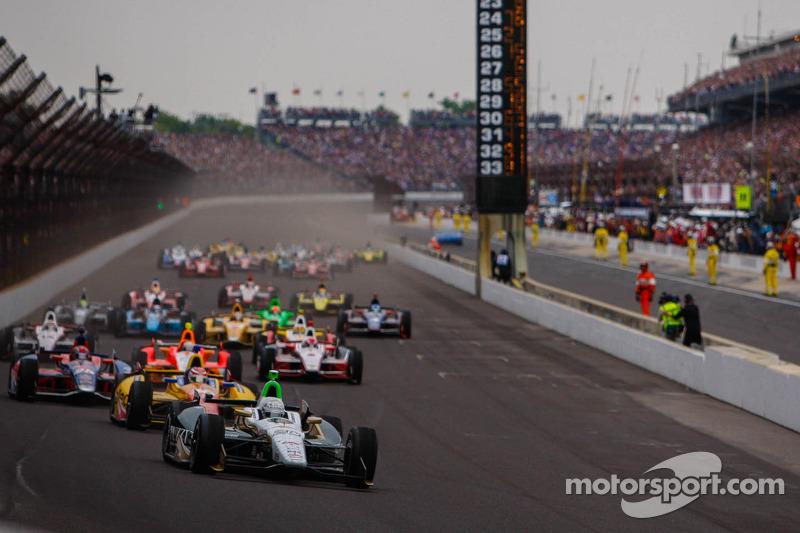 Start van de 97e Indy 500