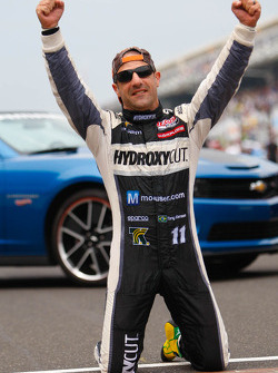 Tony Kanaan, KV Racing Technologies celebrates