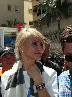 Cameron Diaz, Actress on the grid