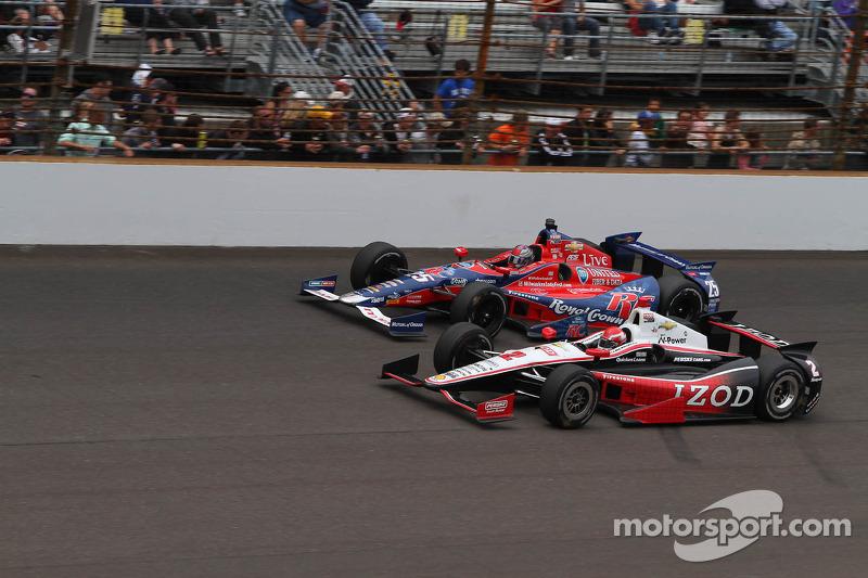 A.J. Allmendinger en Marco Andretti