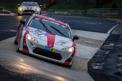 #214 Toyota Swiss Racing Team Toyota GT86 (V3): Olivier Burri, Christoph Wüest, Andreas Lanz, Jeffrey Schmidt