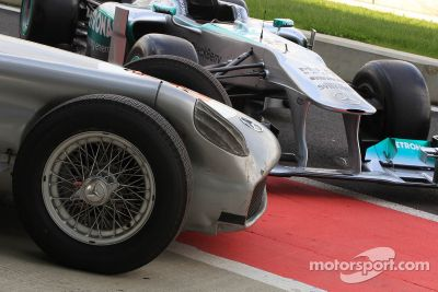 Stirling Moss and Lewis Hamilton special event