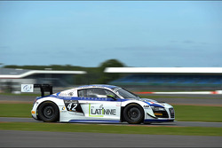 #42 Sainteloc Racing Audi R8 LMS Ultra: David Hallyday, Ronnie Latinne, Romain Monti