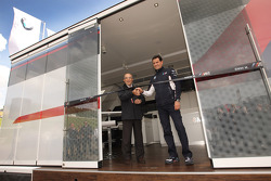 BMW reveals new motorhome for the MotoGP series