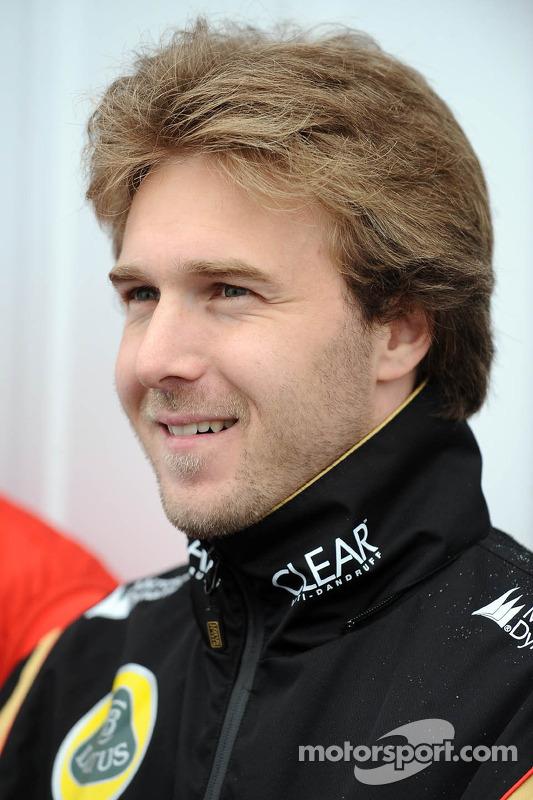 Davide Valsecchi, terceiro piloto da Lotus F1 E21