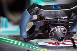 Steering wheel for Lewis Hamilton, Mercedes AMG F1 W04