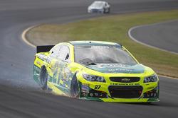Paul Menard, Richard Childress Racing Chevrolet crashes