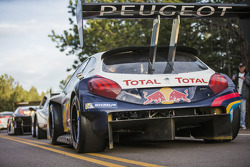 Sébastien Loeb tests the Peugeot 208 T16 at Pikes Peak