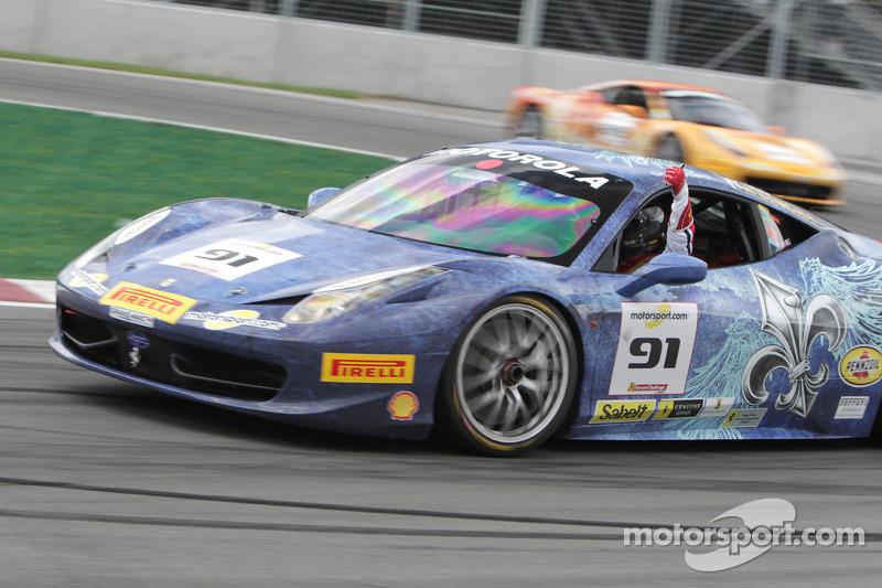 #91 Ferrari 458: Guy Leclerc