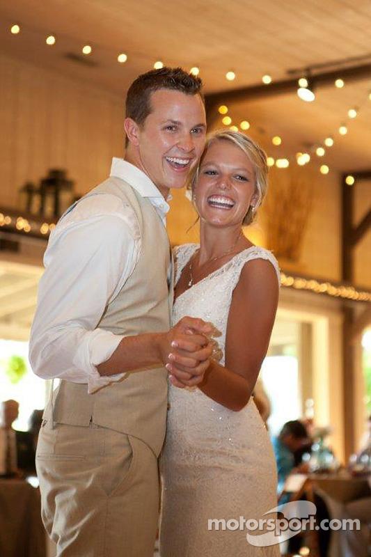 Trevor Bayne e Ashton Clapp se casam