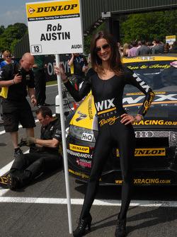 Modelo da Wix Racing de Rob Austin