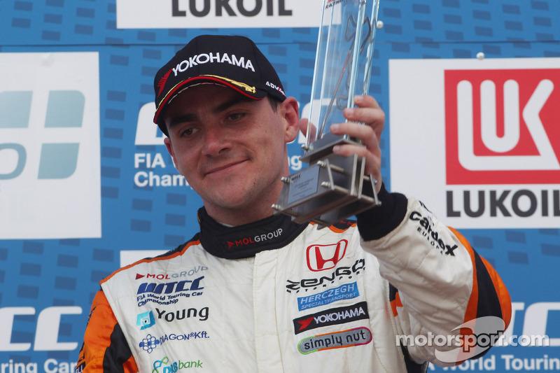 3e plaats Norbert Michelisz, Honda Civic, Zengo Motorsport