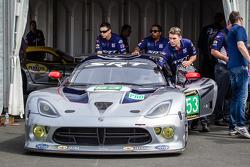 #53 SRT Motorsports Viper SRT GTS-R at scrutineering