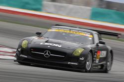 #62 Leon Racing Mercedes-Benz SLS AMG GT3: Haruki Kurosawa
