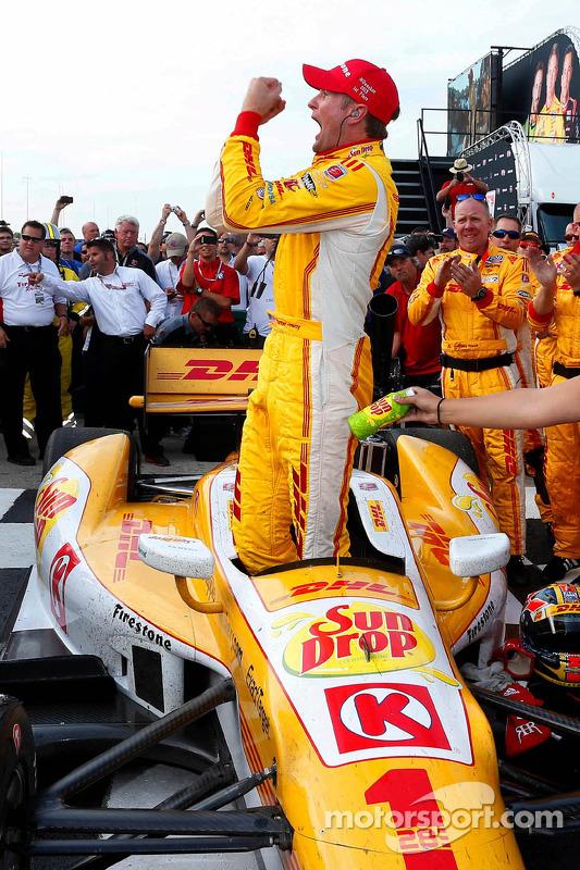 Racewinnaar Ryan Hunter-Reay, Andretti Autosport Chevrolet