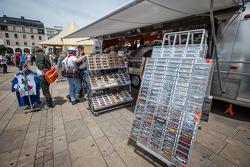 Vendor area at vistoria