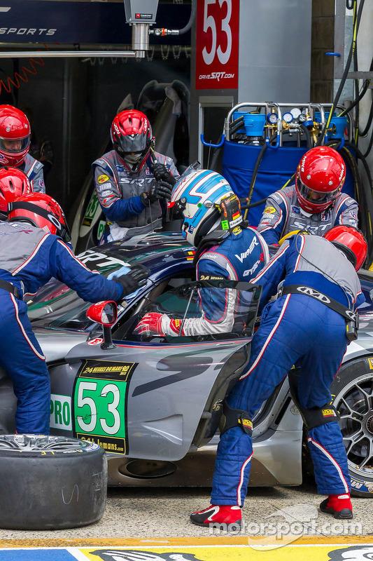 Mudança driver para o #53 SRT Viper SRT Motorsports GTS-R: Ryan Dalziel, Dominik Farnbacher, Marc Goossens