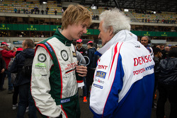 Brendon Hartley and Hugues de Chaunac