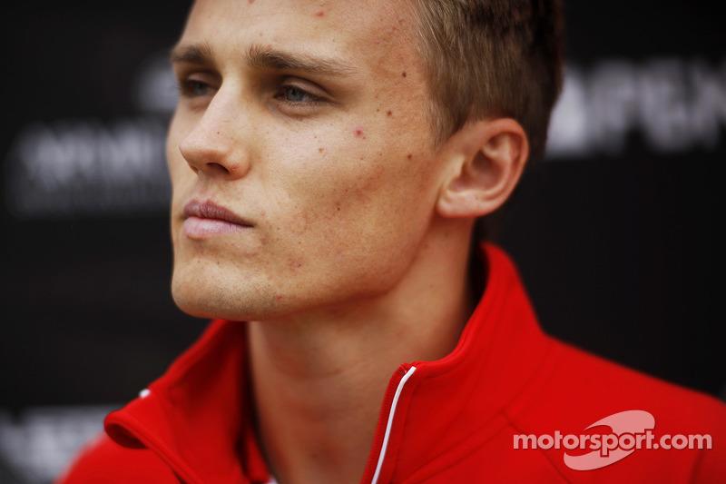 Max Chilton, Marussia F1 Team.