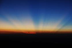 nascer do sol de Pikes Peak