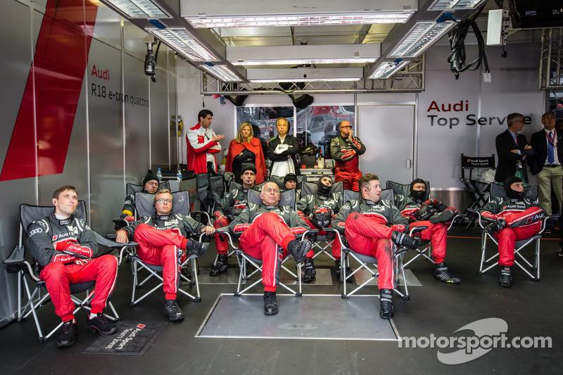 Audi Sport teamleden