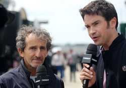 Alain Prost e Thomas Senecal, Canal+