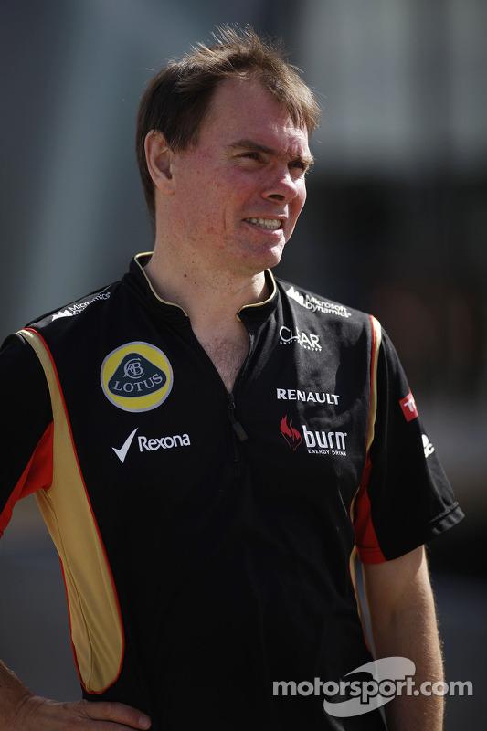 Alan Permane, Diretor de Operações da Lotus