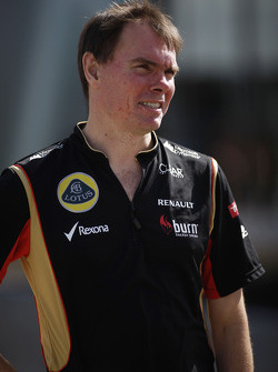 Alan Permane, Lotus F1 Team Trackside Operations Director