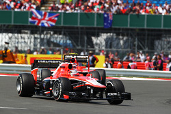 Jules Bianchi, Marussia F1 Team MR02 leads Max Chilton, Marussia F1 Team MR02