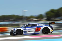 #41 Sainteloc Racing: Claude-Yves Gosselin, Pierre Hirschi, Marc Sourd, Audi R8 LMS Ultra