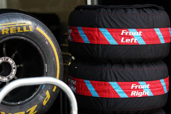 Pirelli tyres and tyre blankets