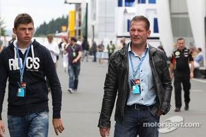 Jos Verstappen, with son Max Verstappen