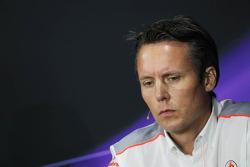 Sam Michael, McLaren Sporting Director in the FIA Press Conference