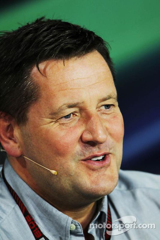 Paul Hembery, Diretor Esportivo da Pirelli na coletiva da FIA