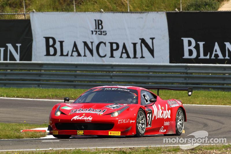 #51 AF Corse Ferrari 458 Italia: Filip Salaquarda, Fabio Odini