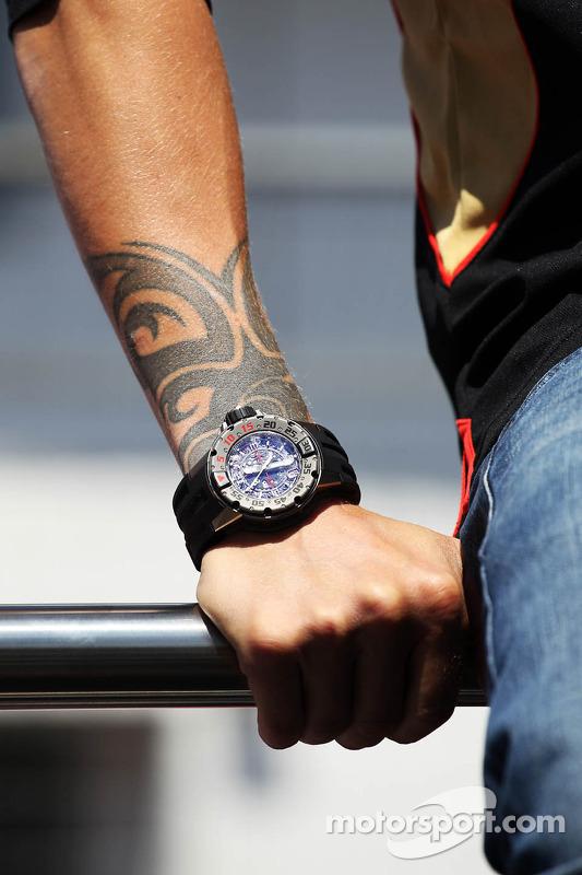 Relógio de Kimi Raikkonen, Lotus F1 Team